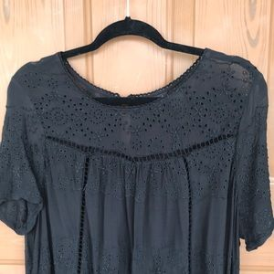 Lucky Brand Tops - Lucky Brand Embroidered Tunic/Blouse